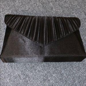 Jessica McClintock black formal clutch